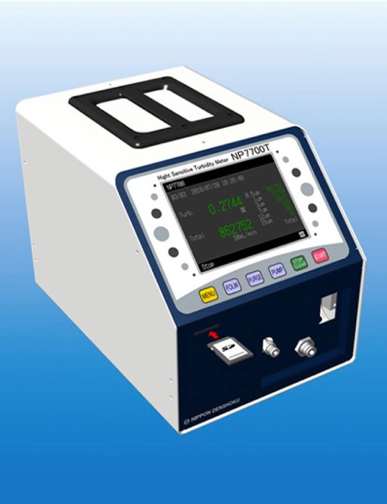 高感度濁度計・微粒子カウンターNP 7700T画像