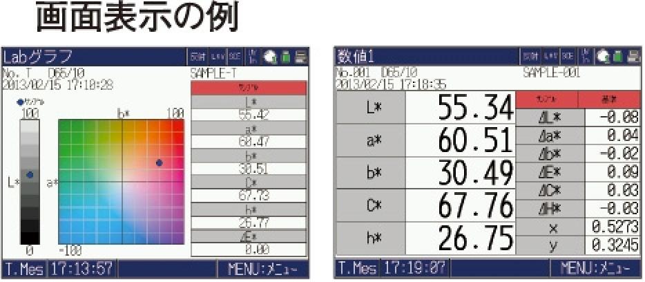 分光色彩計SD 7000 (CU-Ⅱ仕様)資料