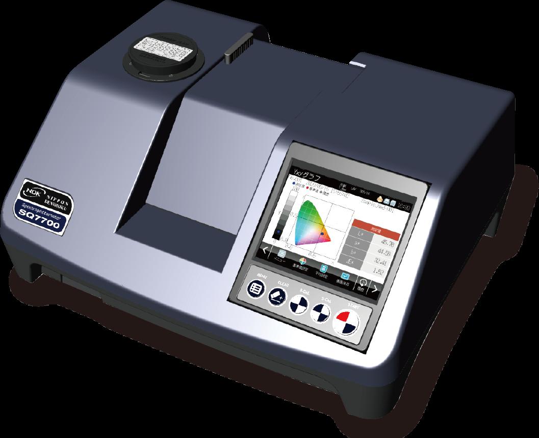 分光測色計・分光色彩計SQ7700<span>新製品<span>画像